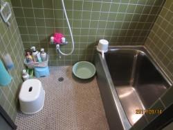 タイルの浴室2